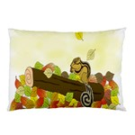 Squirrel  Pillow Case (Two Sides) Back
