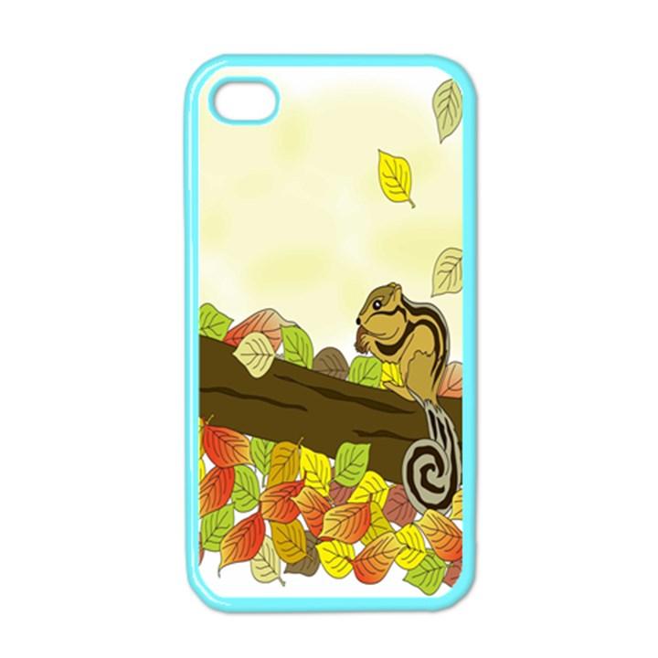 Squirrel  Apple iPhone 4 Case (Color)