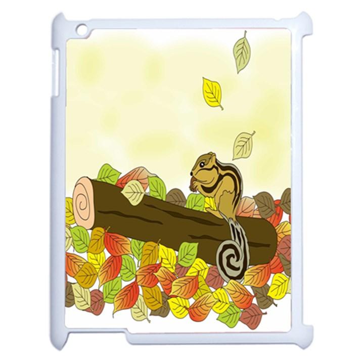 Squirrel  Apple iPad 2 Case (White)