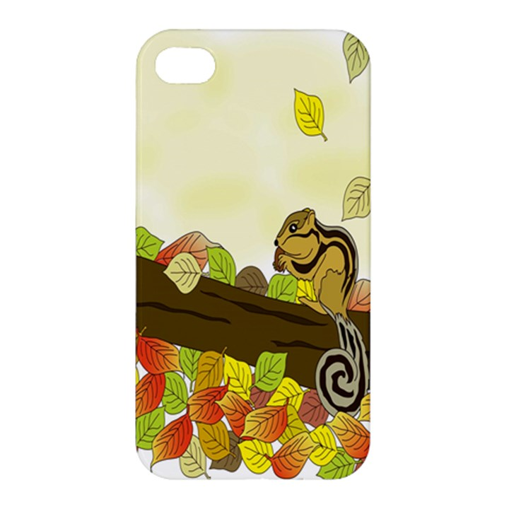 Squirrel  Apple iPhone 4/4S Hardshell Case