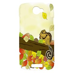 Squirrel  HTC One S Hardshell Case