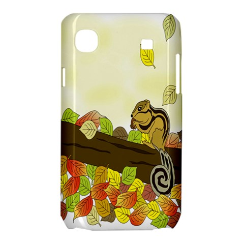 Squirrel  Samsung Galaxy SL i9003 Hardshell Case