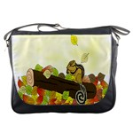 Squirrel  Messenger Bags Front