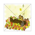 Squirrel  Acrylic Tangram Puzzle (6  x 6 ) Front