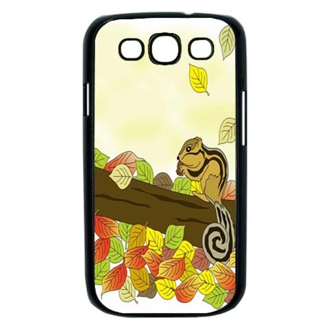 Squirrel  Samsung Galaxy S III Case (Black)