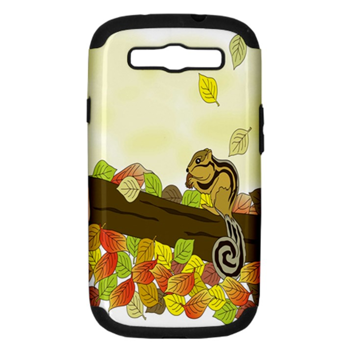 Squirrel  Samsung Galaxy S III Hardshell Case (PC+Silicone)