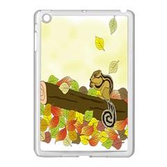 Squirrel  Apple iPad Mini Case (White)