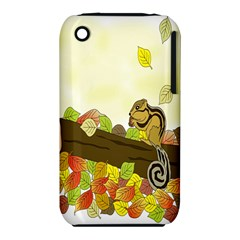 Squirrel  Apple iPhone 3G/3GS Hardshell Case (PC+Silicone)