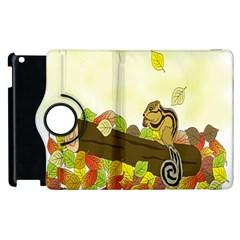 Squirrel  Apple iPad 3/4 Flip 360 Case