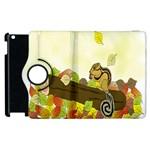 Squirrel  Apple iPad 3/4 Flip 360 Case Front