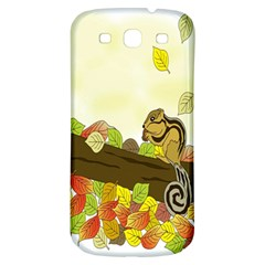 Squirrel  Samsung Galaxy S3 S III Classic Hardshell Back Case