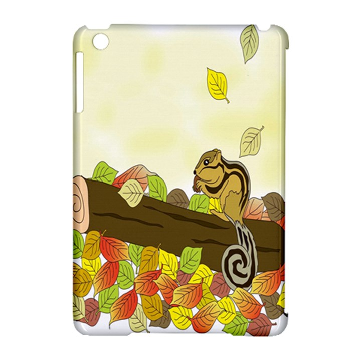 Squirrel  Apple iPad Mini Hardshell Case (Compatible with Smart Cover)