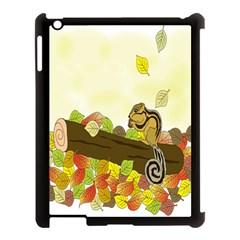 Squirrel  Apple iPad 3/4 Case (Black)