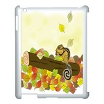 Squirrel  Apple iPad 3/4 Case (White) Front