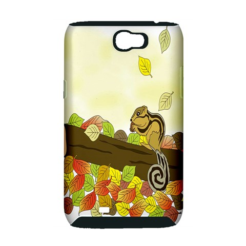 Squirrel  Samsung Galaxy Note 2 Hardshell Case (PC+Silicone)