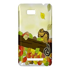 Squirrel  HTC One SU T528W Hardshell Case