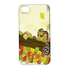 Squirrel  Apple iPhone 4/4S Hardshell Case with Stand