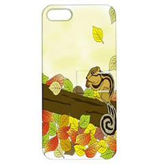 Squirrel  Apple iPhone 5 Hardshell Case with Stand