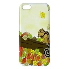 Squirrel  Apple iPhone 5 Premium Hardshell Case