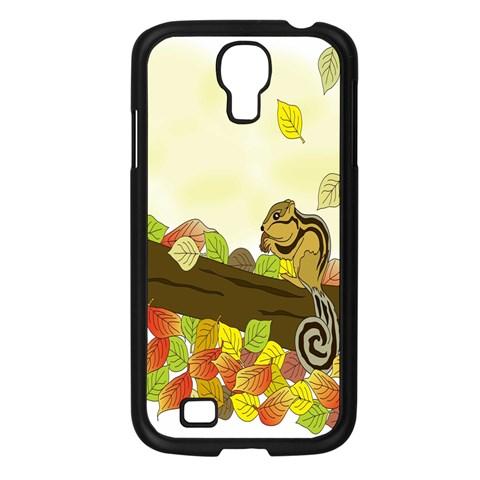 Squirrel  Samsung Galaxy S4 I9500/ I9505 Case (Black)