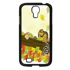 Squirrel  Samsung Galaxy S4 I9500/ I9505 Case (Black)