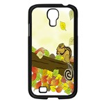 Squirrel  Samsung Galaxy S4 I9500/ I9505 Case (Black) Front
