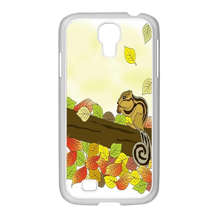 Squirrel  Samsung GALAXY S4 I9500/ I9505 Case (White)