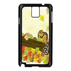 Squirrel  Samsung Galaxy Note 3 N9005 Case (Black)