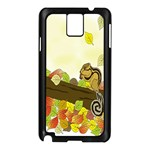 Squirrel  Samsung Galaxy Note 3 N9005 Case (Black) Front