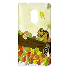 Squirrel  HTC One Max (T6) Hardshell Case