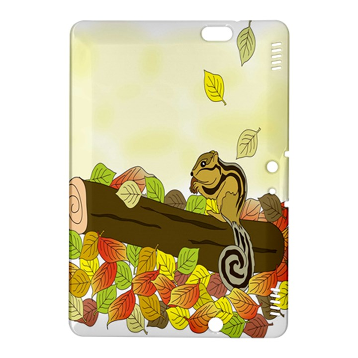 Squirrel  Kindle Fire HDX 8.9  Hardshell Case