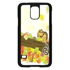 Squirrel  Samsung Galaxy S5 Case (Black)