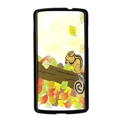Squirrel  Nexus 5 Case (Black)