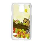 Squirrel  Samsung Galaxy S5 Case (White) Front