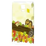 Squirrel  Galaxy Note 4 Back Case Front