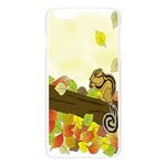 Squirrel  Apple Seamless iPhone 6 Plus/6S Plus Case (Transparent) Front