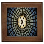 Stained Glass Colorful Glass Framed Tiles Front