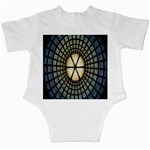 Stained Glass Colorful Glass Infant Creepers Back