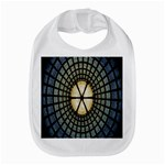 Stained Glass Colorful Glass Bib Front