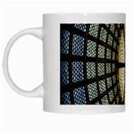 Stained Glass Colorful Glass White Mugs Left