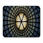 Stained Glass Colorful Glass Large Mousepads Front