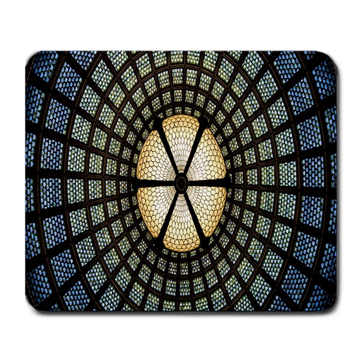 Stained Glass Colorful Glass Large Mousepads