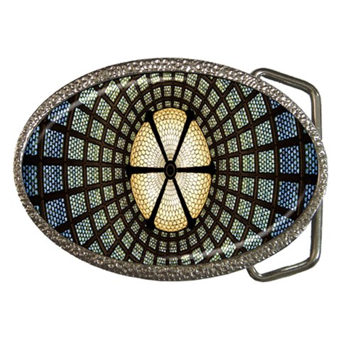 Stained Glass Colorful Glass Belt Buckles