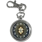 Stained Glass Colorful Glass Key Chain Watches Front