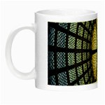 Stained Glass Colorful Glass Night Luminous Mugs Left