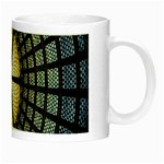Stained Glass Colorful Glass Night Luminous Mugs Right