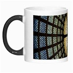 Stained Glass Colorful Glass Morph Mugs Left