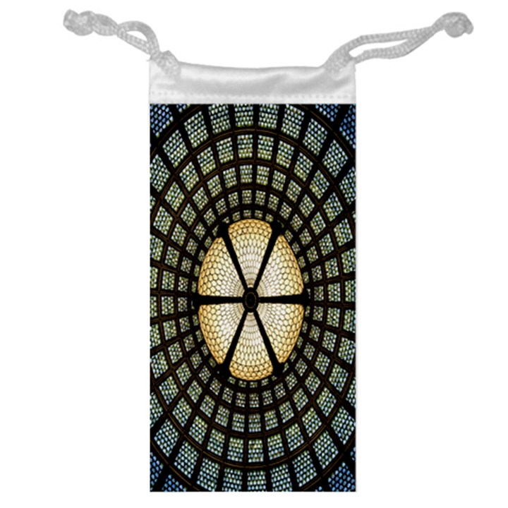 Stained Glass Colorful Glass Jewelry Bags