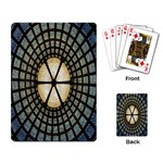 Stained Glass Colorful Glass Playing Card Back