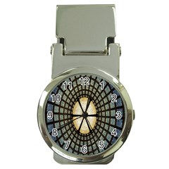 Stained Glass Colorful Glass Money Clip Watches
